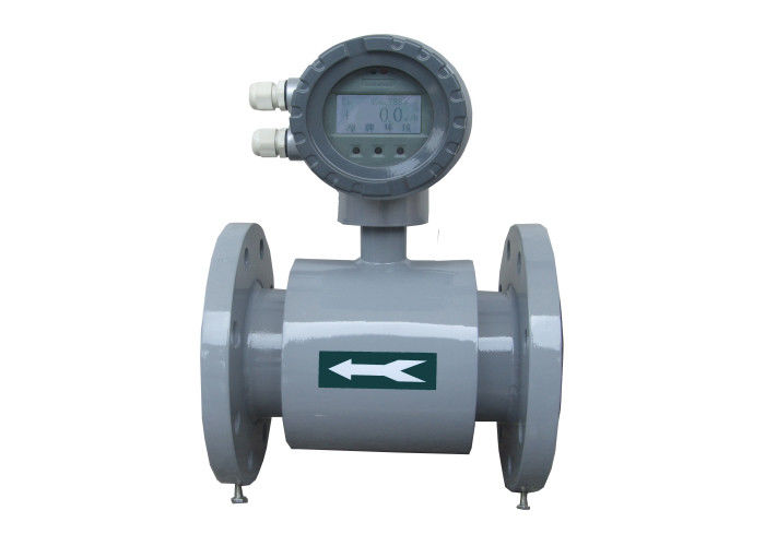 DN300 Mag Flowmeter Magnetic Flow Meter With Low Pressure Drop