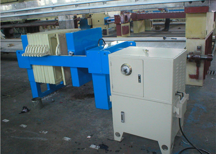 Automated Hydraulic Plate And Frame Filter Press Equipment For Sludge Treatment