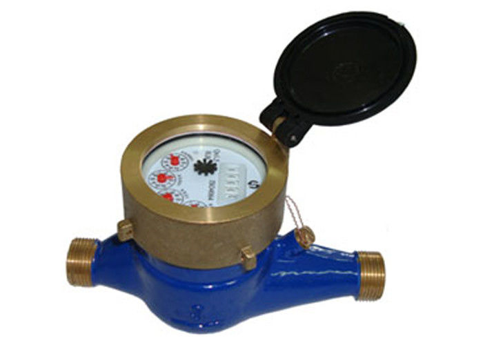 Propeller Type Multi Jet Water Meter With Dry Dial Fully Sealed Runner For Cold Water ISO 4064