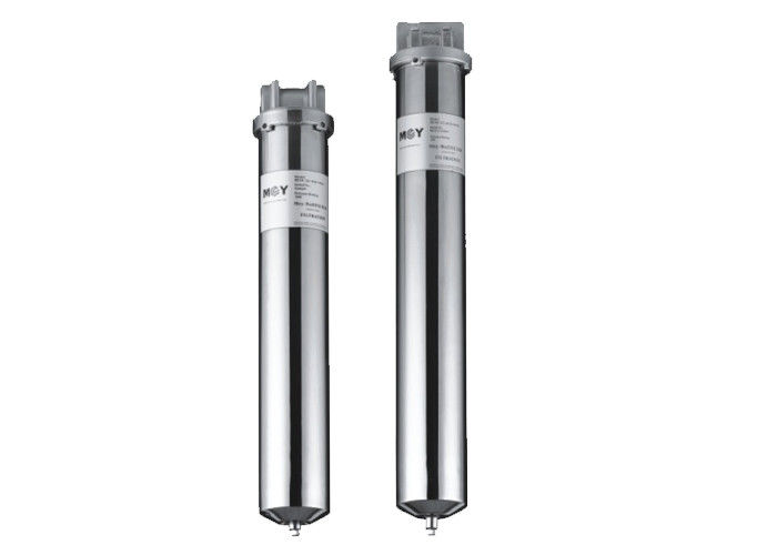 "10"" & 20"" Stainless steel single cartridge water filter vessels for water treatment 1.0 Mpa"