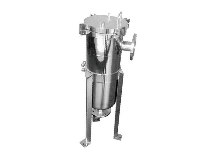 Stainless steel  single bag filter vessel with swing bolt for sugar cyrup 150psi